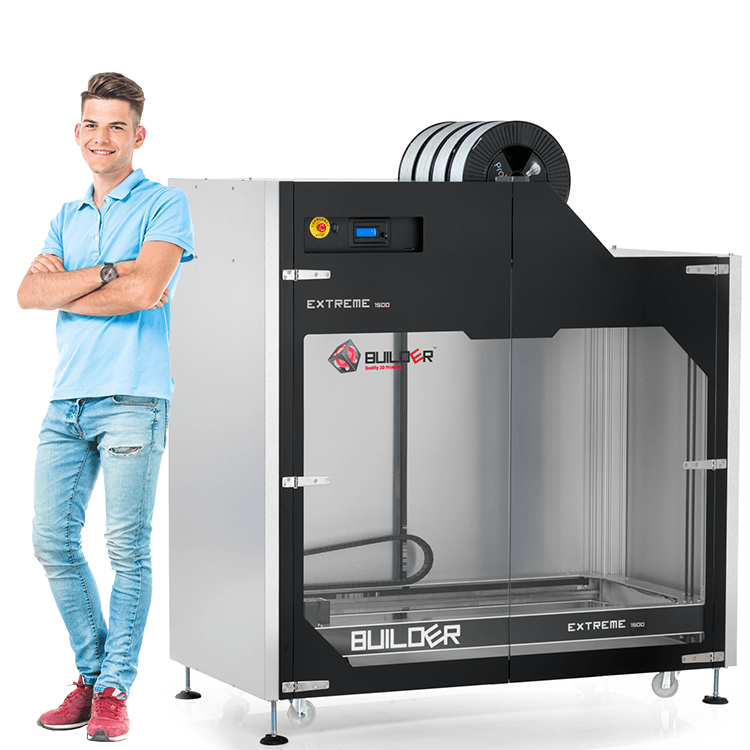 Builder Extreme 1500 - Large Scale 3D Printer