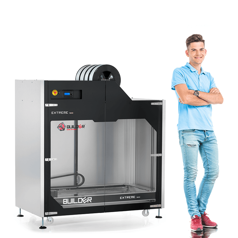 Unique Features Builder Extreme 1500 3D Printer